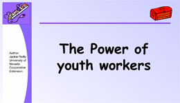 The Power of Youth Workers